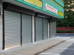 Security Shutters, Stainless Steel Door, Mall Security Doors, Riot Door