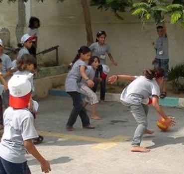 Campamentos infantiles de Gaza destacado
