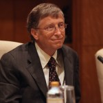 Bill Gates in Abu Dhabi