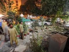 Gilgit Baltistan Blast