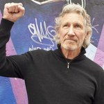 Roger Waters at the Eastside Gallery in Berlin, Germany - 04 Sep 2013