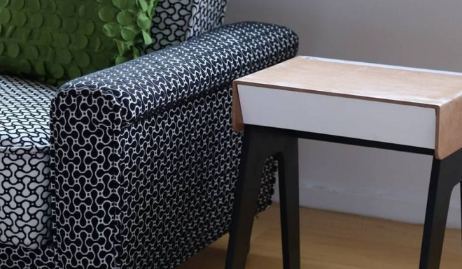 Furniture of the future provides all kinds of connectivity al rasub - Phone charging furniture the future in your home ...