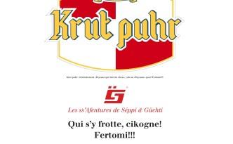 Parotie du loko... pien connue! Et faisant écho à la noufelle publicité de cette marque afec Héric Candona... ;) Fertomi!!!