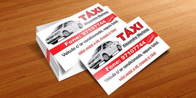 Aplicativo necessario para chamar um taxi