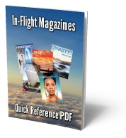 In-Flight Magazines Quick Reference PDF
