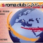 AS Roma Away Card