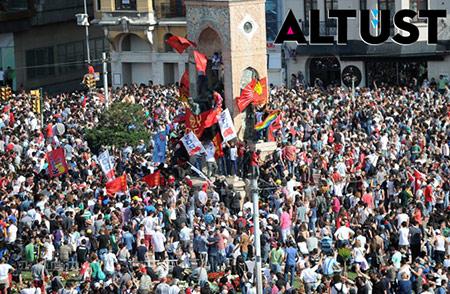 Taksim: Şehrin akışının durdurulması