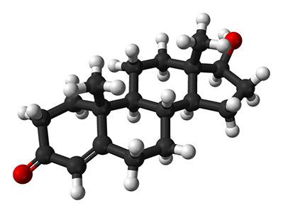 Steroid molekülü