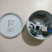 Sensor assembly with wiring details