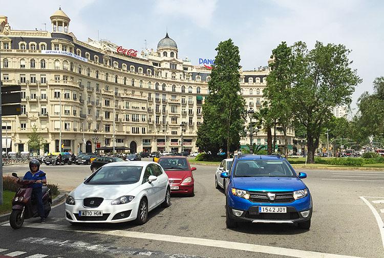 Cars-in-barcelona