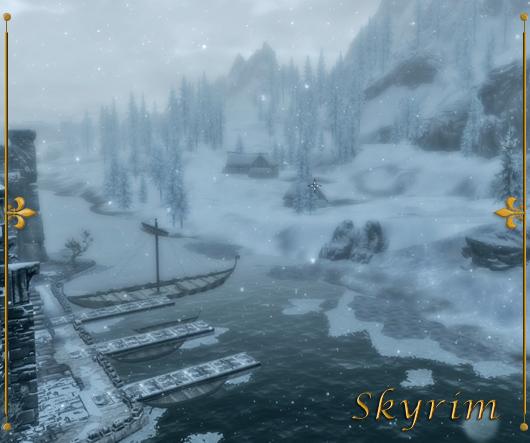 Skyrim - Solitude Harbor