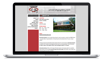 University Cyclery