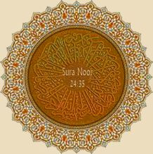 Sura Noor 24.35 Light upon Light