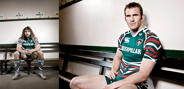 Rugby, Leicester: Canterbury Home kit 2012/13