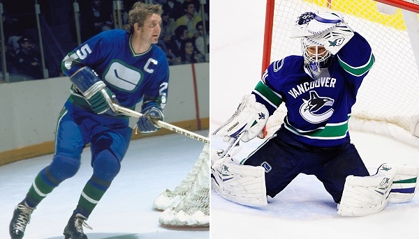 Vancouver Canucks, jersey history del team di hockey Nhl