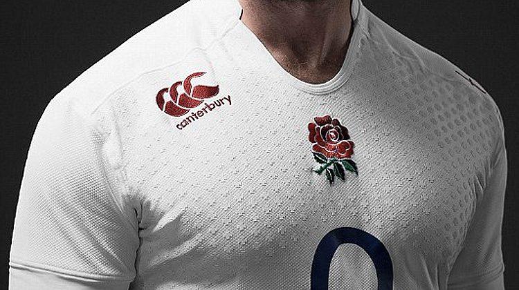 6 Nazioni 2015, la nuova maglia dell'Inghilterra di rugby