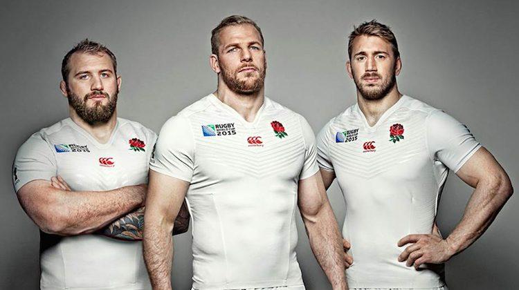 Mondiale rugby 2015, la maglia dell'Inghilterra di Canterbury