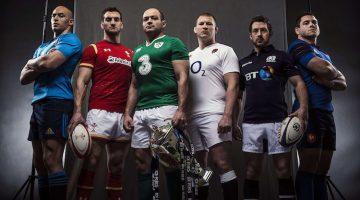 6 Nazioni 2016, maglie delle nazionali di rugby