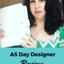 Planner Review: A5 Day Designer Review and Walkthrough