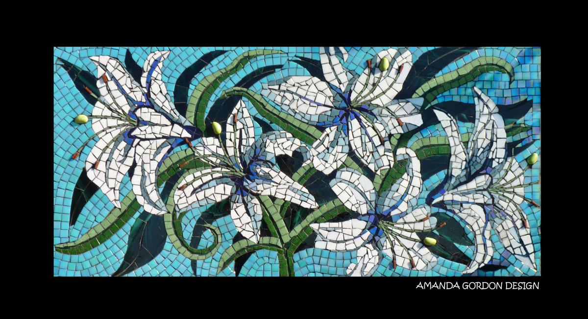lillies-mosaic