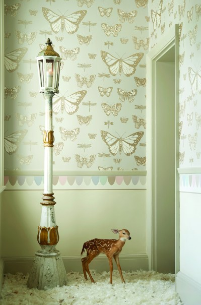 Cole & Son's New Whimsical Wallpaper Collection - The LuxPad