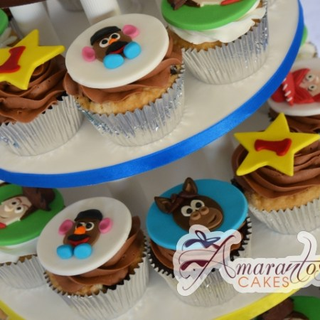 Toy Story Cup Cakes - Amarantos Designer Cakes Melbourne