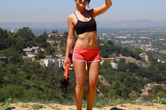 personal trainer hikking LA amaras la moda Diego 3
