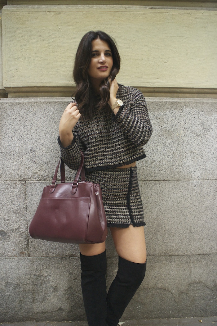 zara-top-and-skirt-over-the-knee-boots-justfab-la-redoute-bag-and-trench-amaras-la-moda-paula-fraile9