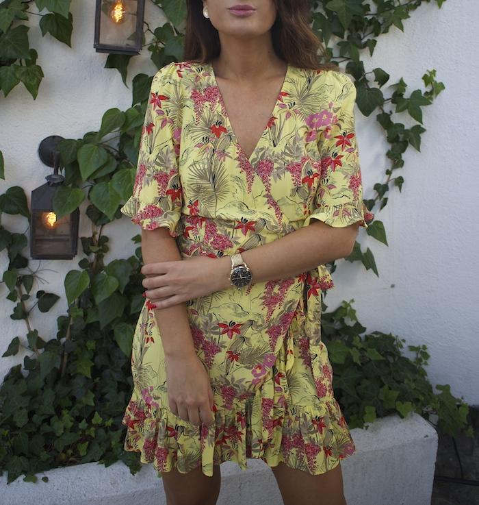 vestido zara embajadora Henry London amaras la moda paula fraile5