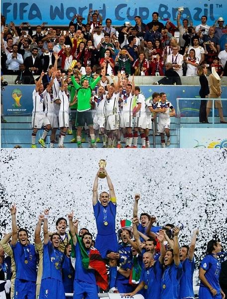 Ci tocca rivincere il Mondiale solo per fargli vedere come si festeggia.