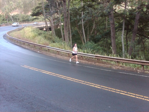 That's me running the Leg 4 of Hana Relay :)