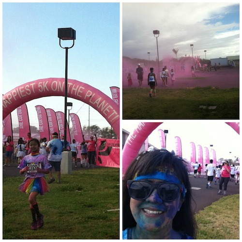 Color Run Maui 2014 - Pink