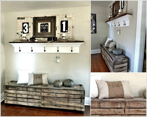 Make Furniture for Your Living Room with Pallets 10
