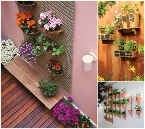 Materials to Use for a Vertical Garden a