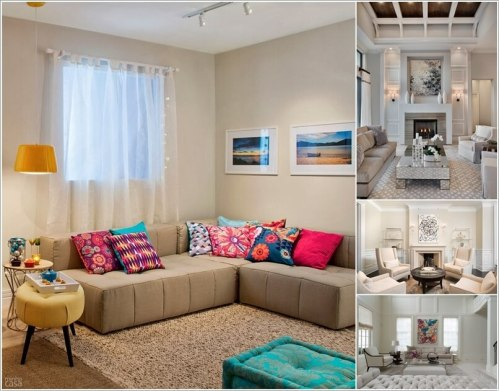 Spread Colors and Life in Your Neutral Living Room a