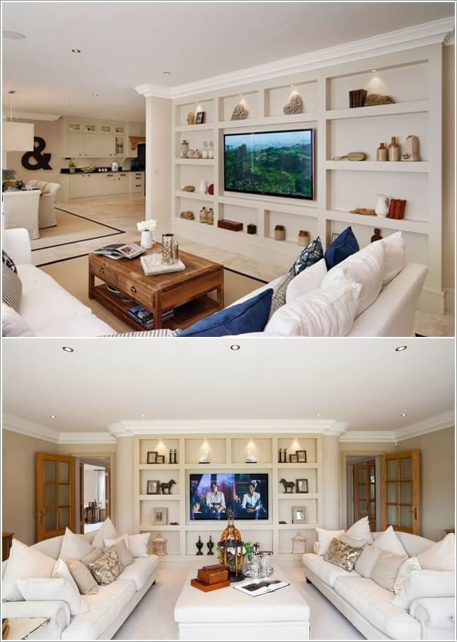 Design an Interesting and Chic TV Wall 2