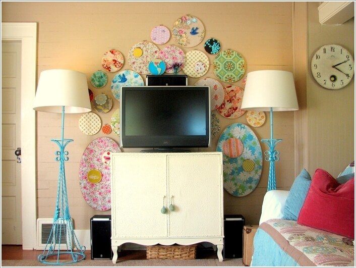 Design an Interesting and Chic TV Wall 7