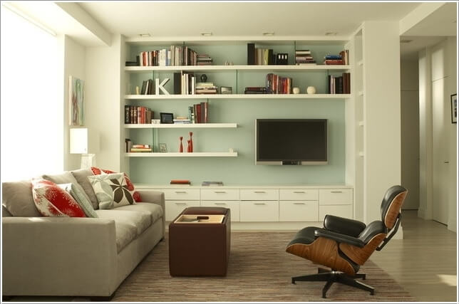 Design an Interesting and Chic TV Wall 9