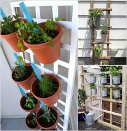 Small Of Herb Garden Balcony