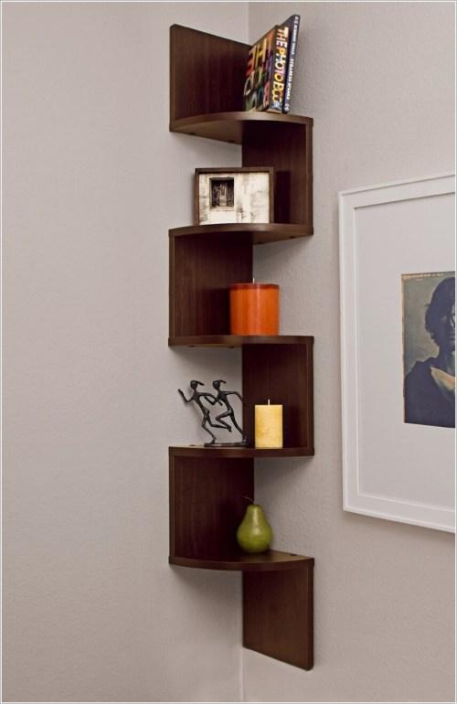Medium Of Corner Shelf Ideas