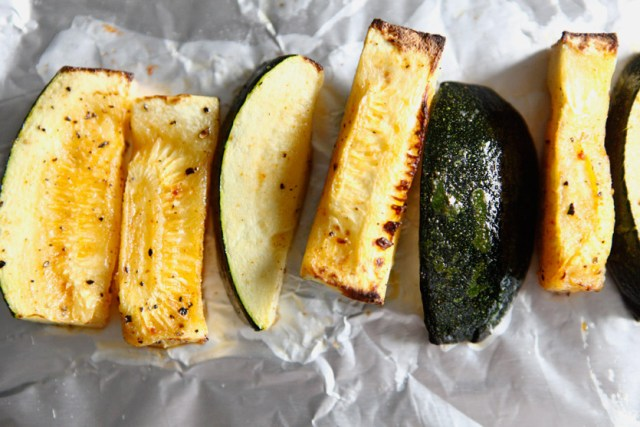 Summer Squash Wedges