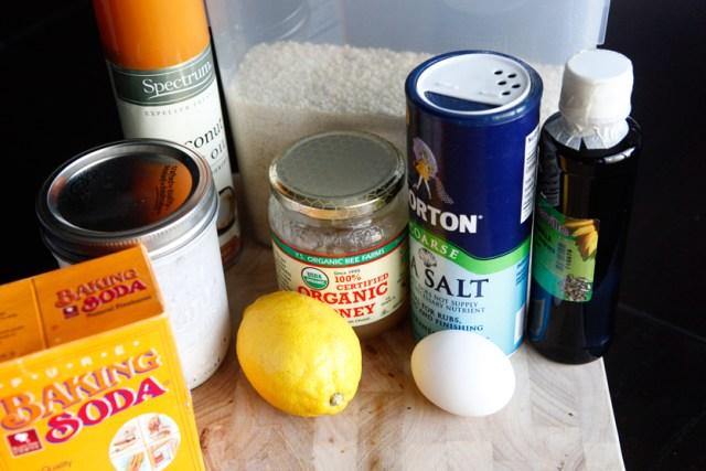 Coconut Lemon Paleo Pancakes
