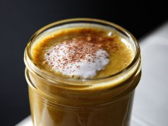 Paleo Pumpkin Smoothie with Whipped Cream