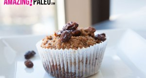 Paleo Apple Raisin Muffins