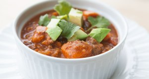 Beef and Sweet Potato Crockpot Chili