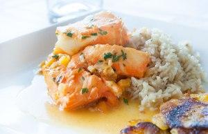 Paleo Diet Sea Bass in Coconut Sauce Recipe
