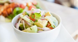 Avocado and Cucumber Salsa