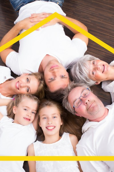 Multi-generational Living: Why it's cool to live with your parents again