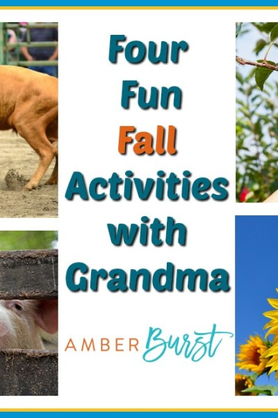 Four Fun Fall Activities with Grandma
