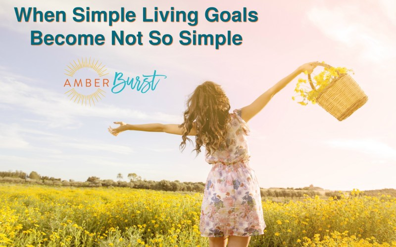 When Simple Living Goals Become Not So Simple
